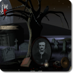 flash 3d interactive edgar allan poe 200 project